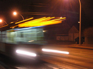 Bus Blur image, November 2007