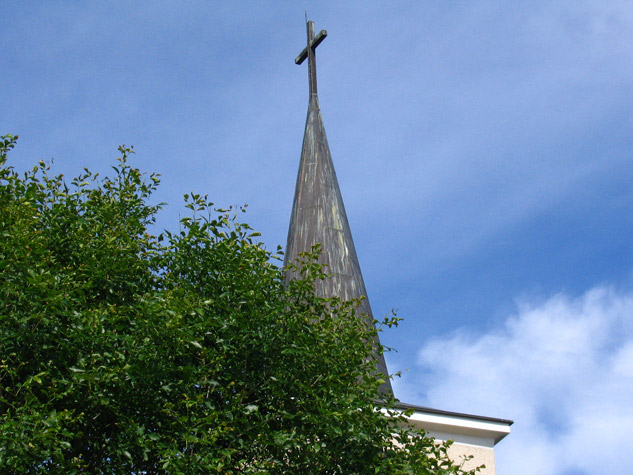 German Church, spire