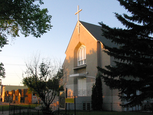 Korean Church, front