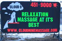 Cloud 9 Massage, February 2005