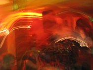 Red Swirl, Kasbar Lounge Edmonton, May 2007