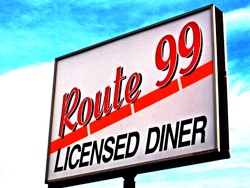 The Route 99 Diner, Edmonton